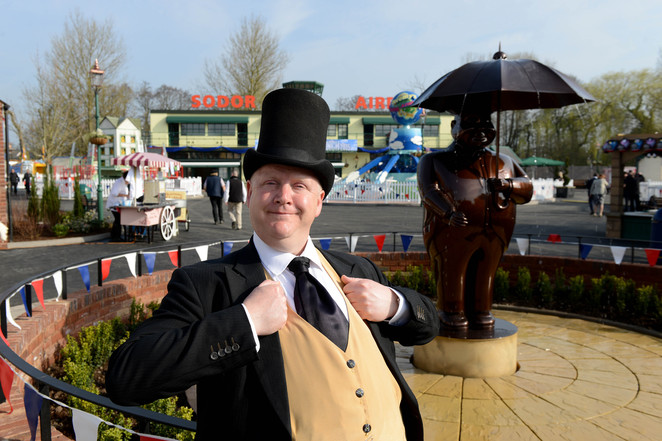 Drayton Manor, theme park, Thomas Land, The Fat Controller