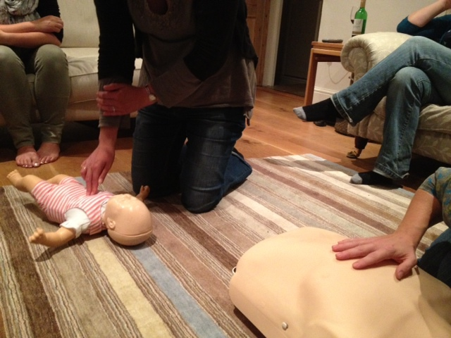 first aid, training, child, course, parent, CPR, oxfordshire
