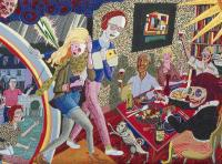 Grayson Perry, art, tapestries, The Vanity of Small Differences