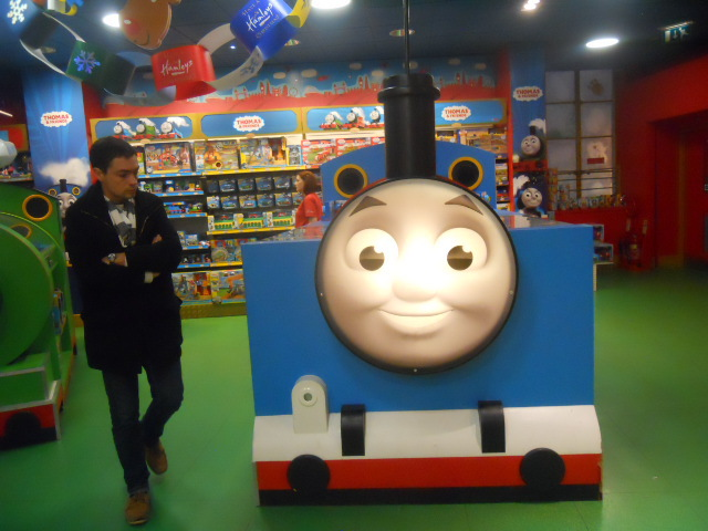 hamleys, thomas the tank engine