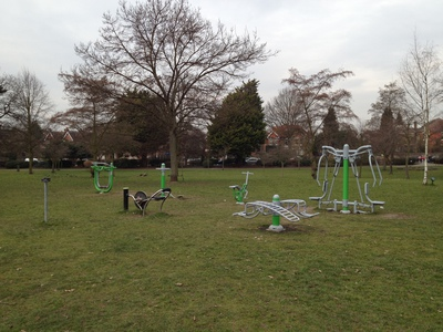 Lammas Park Gym Equipment