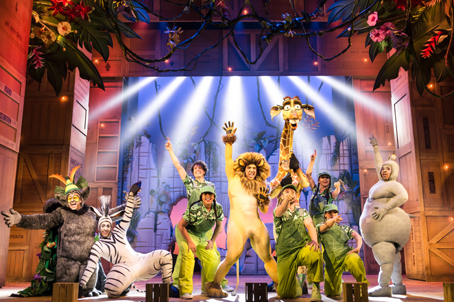 madagascar the musical, tour, birmingham, review