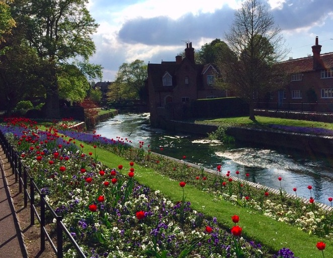 Parks in Canterbury, River walks