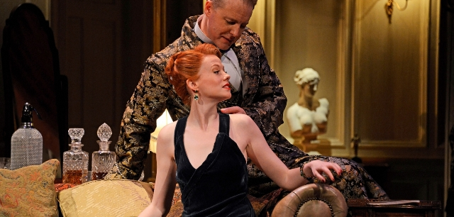 present laughter, Samuel West, Theatre Royal Bath production, Noel Coward, tour, Malvern theatre, Review