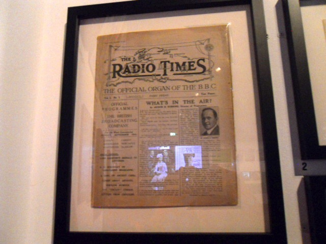 radio times, cover story, anniversary, museum of london, birthday, 90
