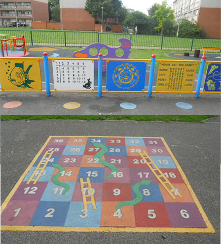 rock terrace recreation ground, snakes and ladders