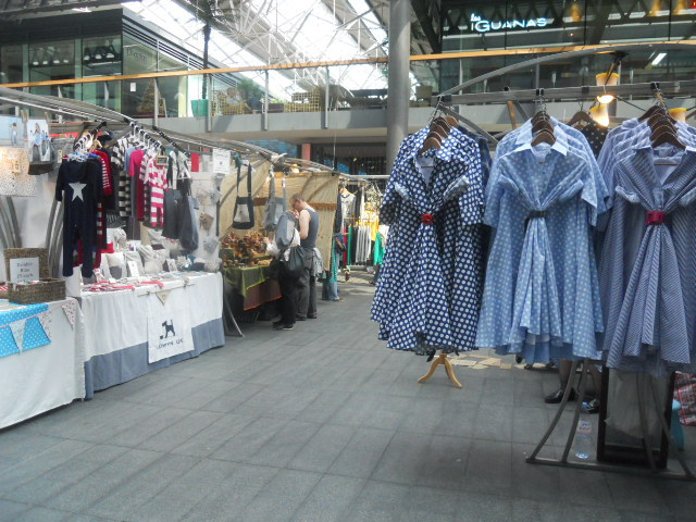 spitafields market, fashion, clothes, vintage, dresses