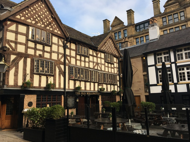The Old Wellington, Shambles Square, Manchester, Heritage, Medieval Quarter