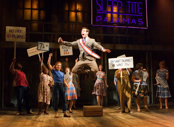 the pajama game musical, shaftsbury theatre