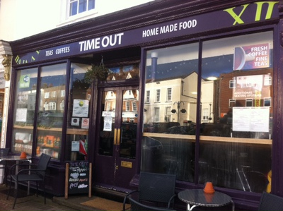 Time Out, tea shop, Thame