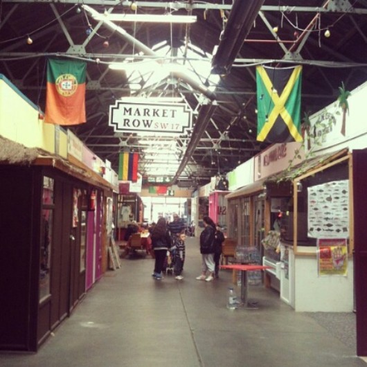 Tooting market, indoor market, market, cheap