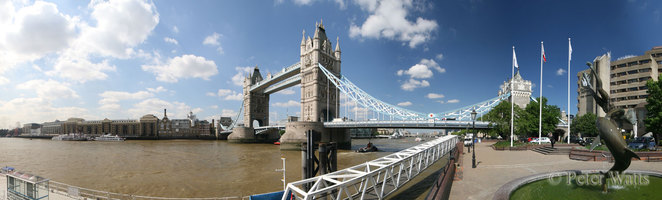 Tower Bridge St Katherine Pier