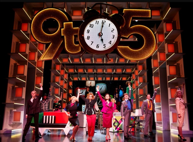 9 to 5 the musical, Louise Redknapp, Alexandra theatre