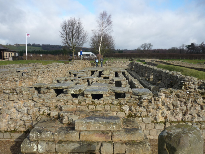 hypocaust, corbridge, hadrian's, wall