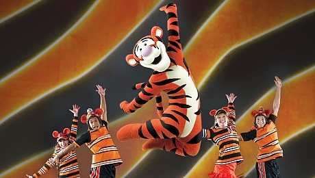 mickey's rockin' road show, mickey mouse, new wimbledon theatre, tigger
