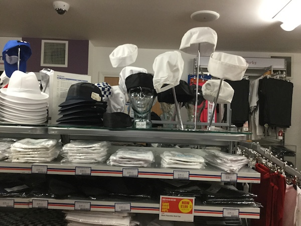 nisbets, catering supplies, chef uniforms, chef hats