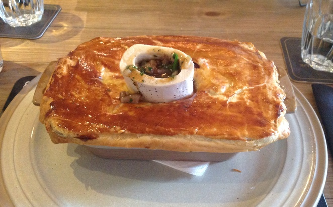 Scran and Scallie, Tom Kitchin, Stockbridge, edinburgh, gastro pub, steak pie