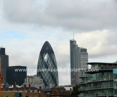 The Gherkin - From a distance