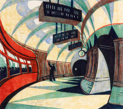 the london print fair, tube