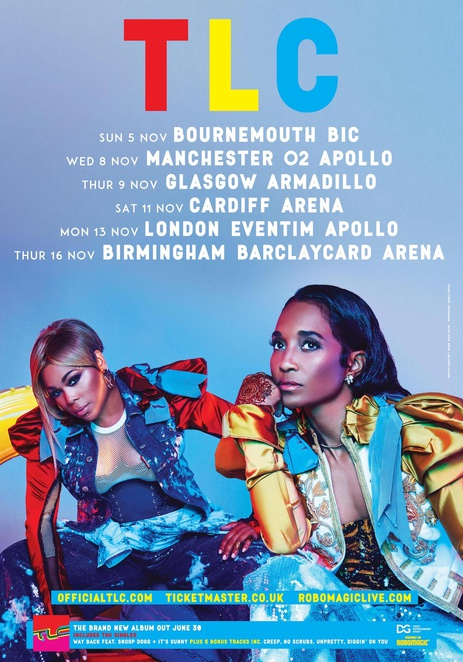 TLC, uk tour, Birmingham