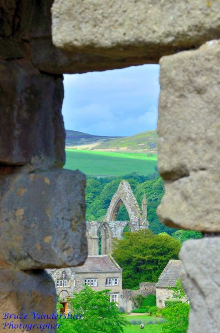 Bolton Abbey, priory, ruins, cathedral, Yorkshire, United Kingdom