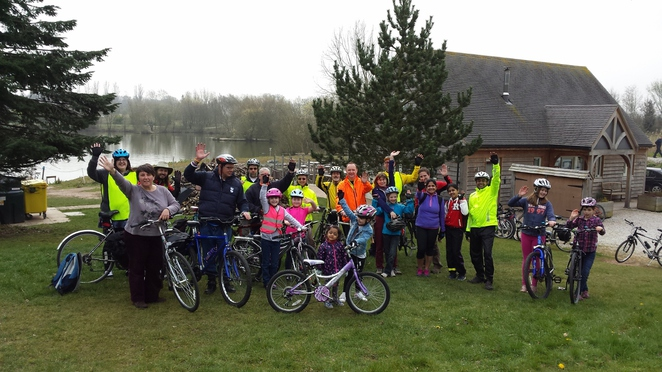 Cycle Rides for All, Fisherwick Lakes