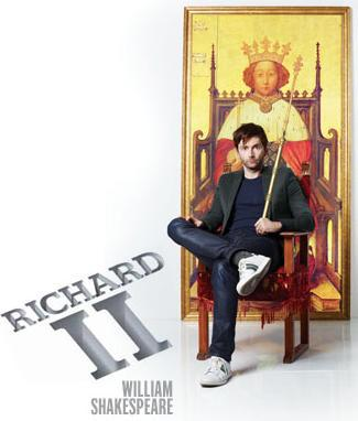 David Tennant in the RSC's production of Richard II, Stratford,Barbican