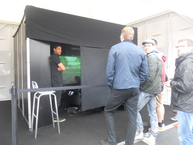 f1 fanzone, formula one, motion simulator