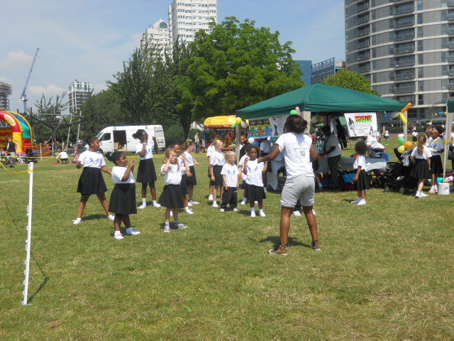 king george's park, get active wandsworth festival, get rhetoric, E.A. CIC, dancing, street dance