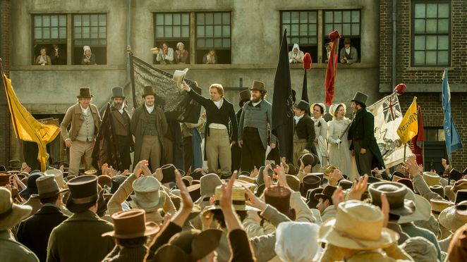 Mike Leigh, Peterloo Massacre, Manchester, history, Rory Kinnear