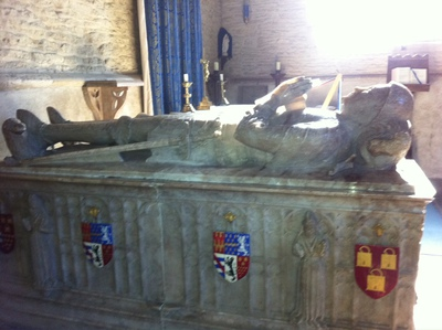 Minster Lovell, Lord Lovell tomb