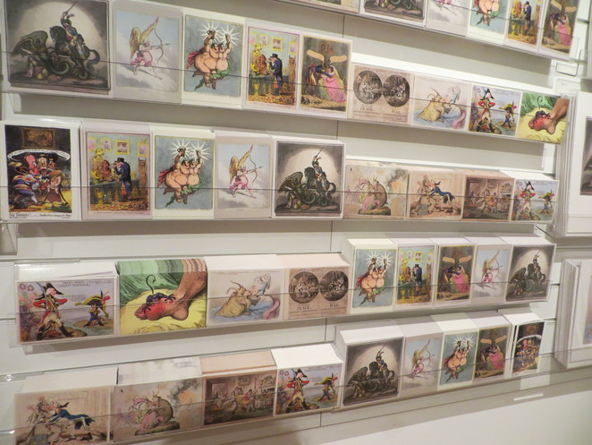 ashmolean, love bites, exhibition, gillray, postcards
