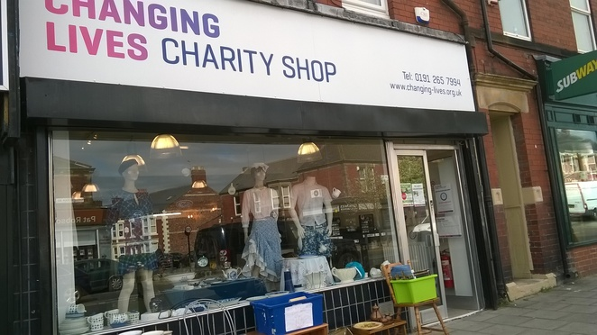 changing lives charity shop