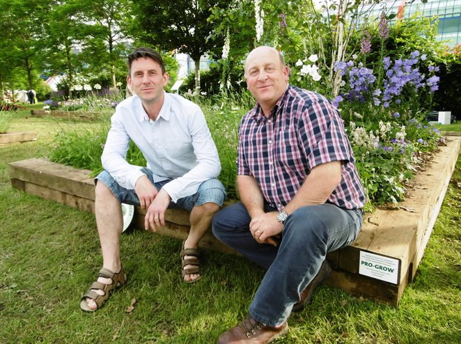 Gardeners World Live 2014 Tony Harding, Chris Cooper-Hayes