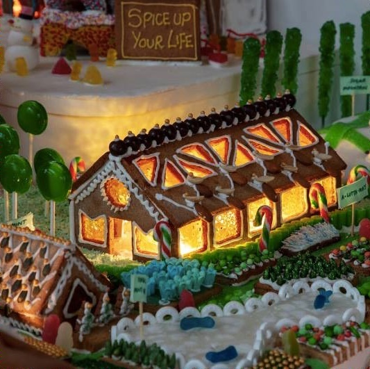 Gingerbread City, Victoria and Albert Museum, London