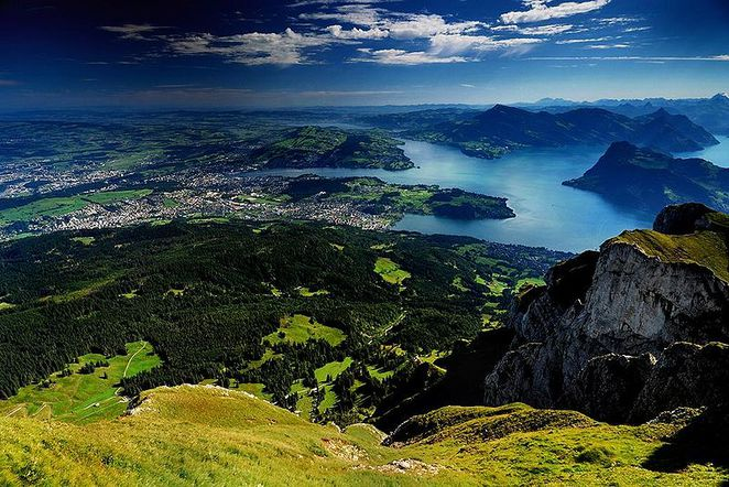 lucerne, switzerland, lake