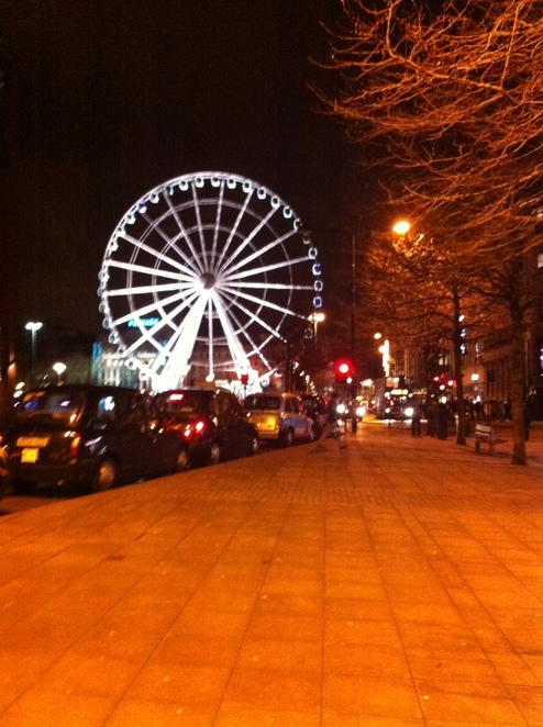 manchester, piccadilly, gardens, ferris, wheel