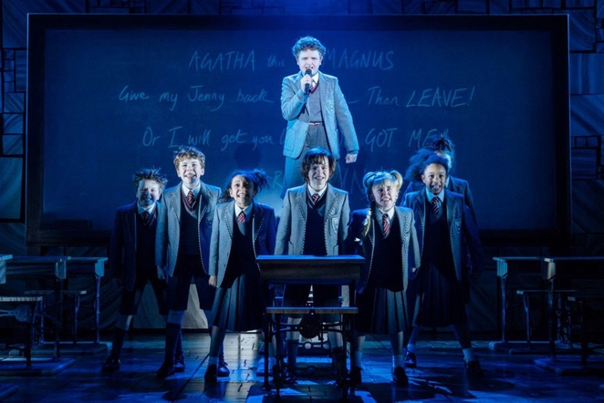 Matilda the musical, Birmingham hippodrome, review,