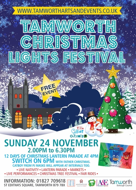 Tamworth Christmas Lights