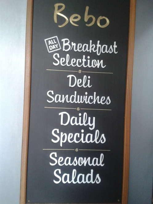 Cafe Bebo, cafe, breakfast, lunch, sandwiches, salads