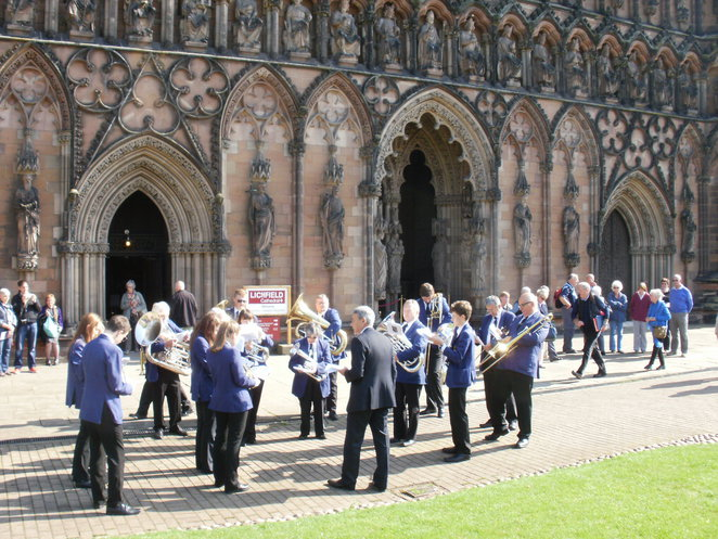 City of Lichfield Concert Band, Lichfield Cathedral