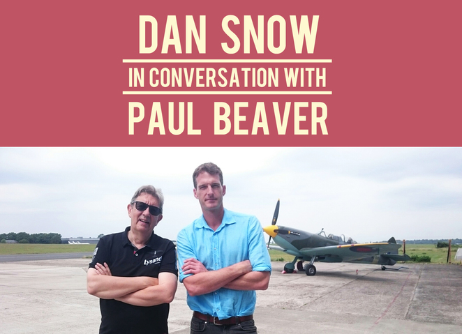 dan snow, paul beaver, dan snow in conversation with paul beaver, spitfires, southampton spitfires, southampton wartime, history southampton, nuffield southampton theatres