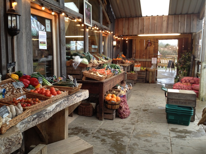 Fresh fruit and veg, Hartley Farm Shop and Cafe