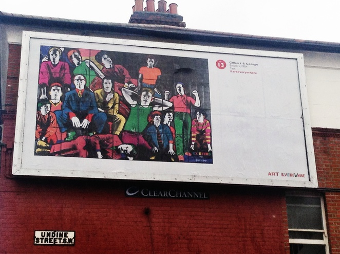 Gilbert and George, Existers, Art Everywhere