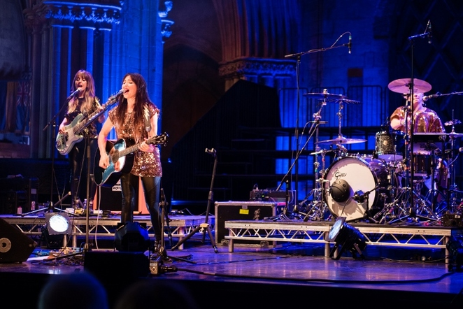 KT Tunstall, Lichfield Cathedral