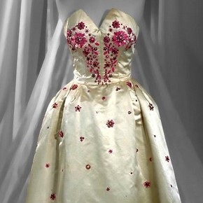 Norman Hartnell 1953 Gown
