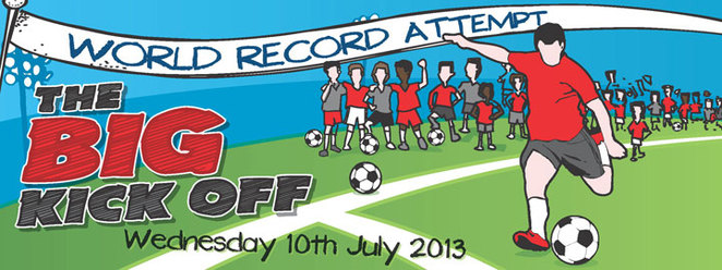 the big kick off, the big issue, football