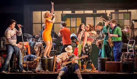 The Commitments, Roddy Doyle, rock musical, Uk tour, Birmingham, Manchester, London