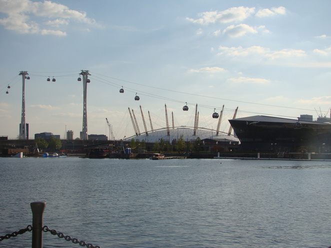 The Emirates Line (far)
