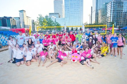 action for kids, beach volley ball championships